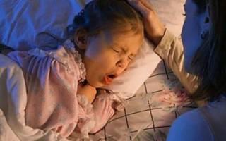 Лающий кашель у ребенка без температуры лечение 1 год