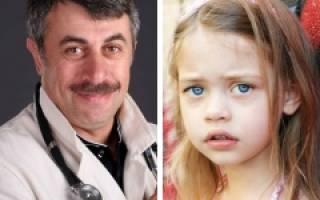 Синяки под глазами причины и лечение у ребенка