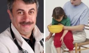 Рвота у ребенка без температуры и поноса лечение 7 лет