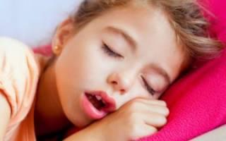 Остановка дыхания во сне у ребенка причины и лечение