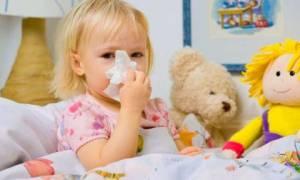 Лечение при первых признаках простуды у ребенка до года
