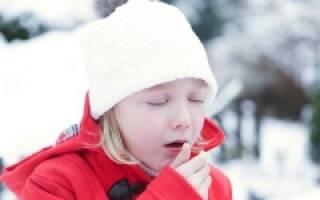 Сухой кашель и температура 38 у ребенка лечение