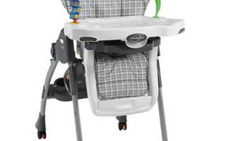 Польза детского стульчика для кормления