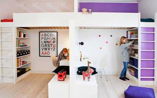Идеи для оформления комнаты для разнополых детей