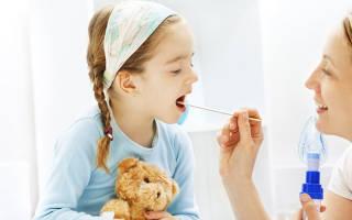 Рыхлое горло и сухой кашель у ребенка лечение