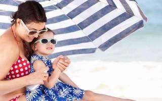 Солнечный ожог у ребенка лечение в домашних условиях