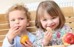 Принципы питания трехлетнего малыша