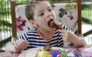 Необходимость мясных продуктов в рационе ребенка