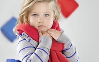 Налет на миндалинах у ребенка с температурой лечение комаровский