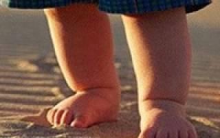 Грибок на ногах между пальцами у ребенка лечение
