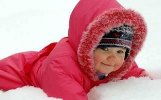 Холодовая аллергия на лице у ребенка