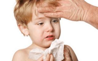 Синусит у ребенка 5 лет симптомы и лечение