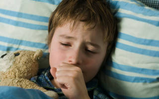 Сухой кашель во время сна у ребенка лечение