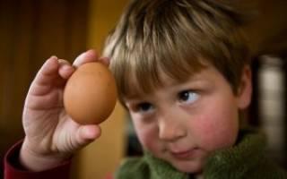 Аллергия на яйца у детей симптомы