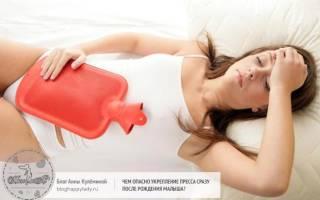 Опасные последствия занятия прессом при грудном вскармливании