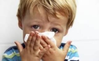 Отек в носу у ребенка причины и лечение