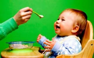 Правила прикорма при искусственном кормлении