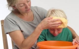 Рвота у ребенка без температуры лечение в домашних условиях 6