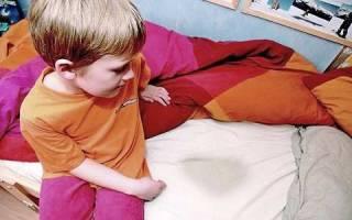 Ночной энурез у ребенка 5 лет домашнее лечение