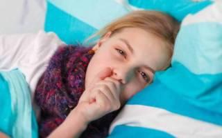 Сухой ночной кашель у ребенка причины и лечение