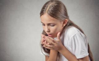 Сухой кашель и боль в горле у ребенка лечение