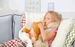 Красное горло и сухой кашель у ребенка лечение