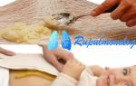 Лепешки с медом для лечения кашля у ребенка