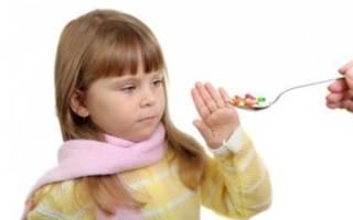 Лечение ангины у ребенка 2 лет без антибиотиков