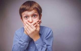 Причина запаха ацетоном изо рта у ребенка