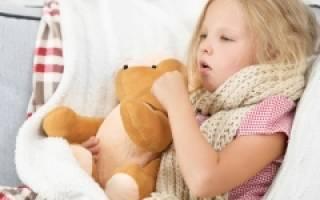 Что давать ребенку при влажном кашле в 3 года?