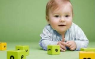 Как играть с шестимесячным ребенком