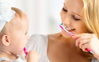 Почему надо ухаживать за полостью рта малыша