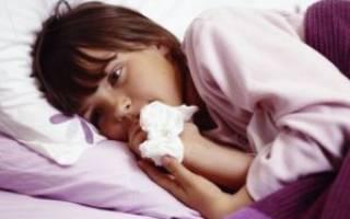 У ребенка заложен нос но соплей нет лечение
