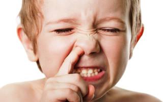 Кровяные корки в носу причины и лечение у ребенка