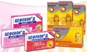 Через сколько после нурофена можно давать цефекон