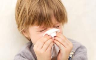 У ребенка насморк и кашель без температуры лечение
