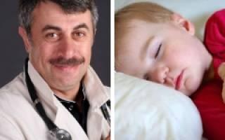 Сильное потоотделение у ребенка во время сна причины и лечение