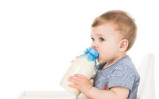 Как давать ребенку до года козье молоко?