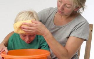 Тошнота рвота понос температура 38 у ребенка лечение