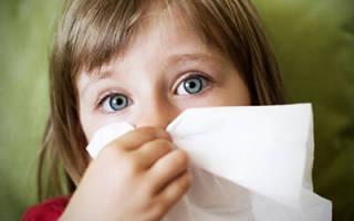 Заложенность носа без насморка причины у ребенка лечение