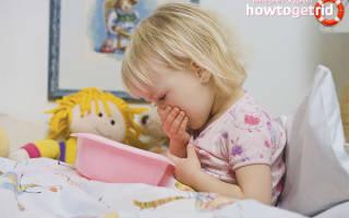 При рвоте у ребенка 6 лет что давать