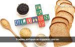Содержит ли пшеничная каша глютен