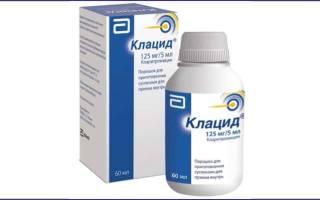 Как хранить клацид готовую суспензию?