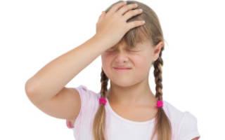 Частые головные боли у ребенка 6 лет причины и лечение