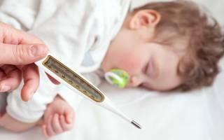 Температура 39 у ребенка после прививки акдс