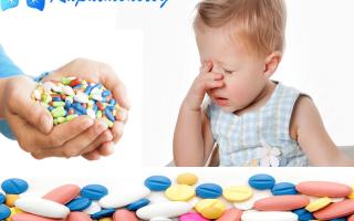 Антибиотики для ребенка 3 лет для лечения кашля