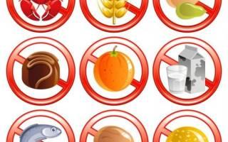 Что ребенку можно есть при аллергии?